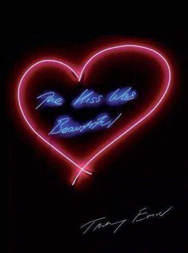 The kiss was beautiful by Tracey Emin RA