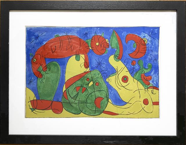 UBU Roi (plate 11) by Joan Miro at Fairhead Fine Art
