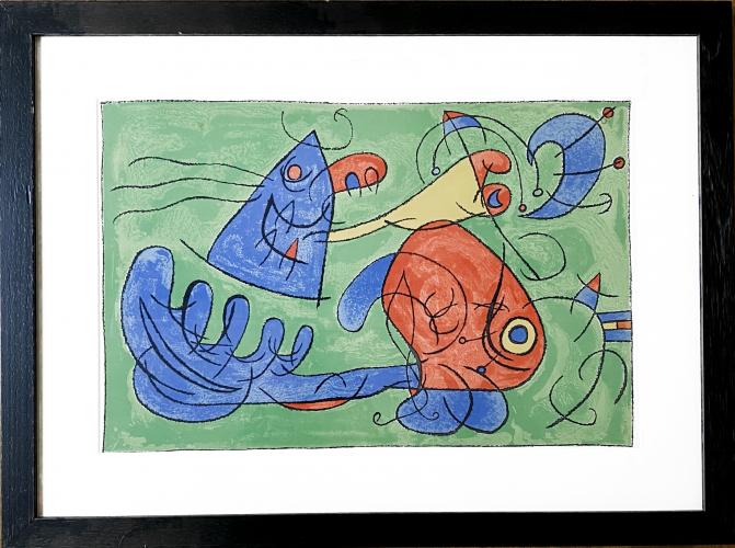 UBU Roi (plate 12) by Joan Miro at Joan Miro