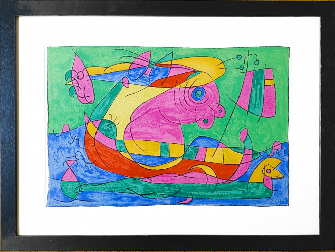 UBU Roi (plate 13) by Joan Miro at Joan Miro