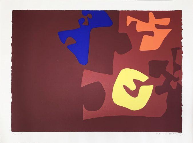 "Untitled – Rothko Memorial Portfolio"" by Patrick Heron"