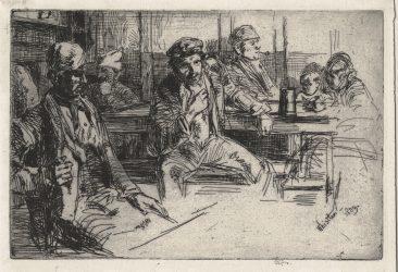 Longshoremen (Longshore Men) by James Abbott McNeill Whistler at