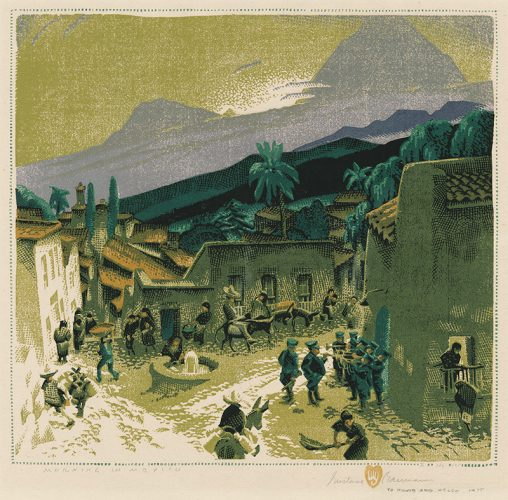 Morning In Mexico by Gustave Baumann at