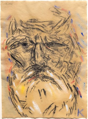 Self Portrait (After Freud's Second Painting of Me) by R.B. Kitaj