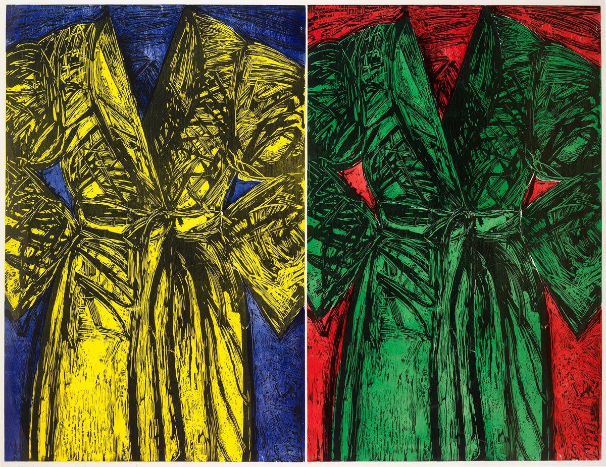 Kindergarten Robes by Jim Dine