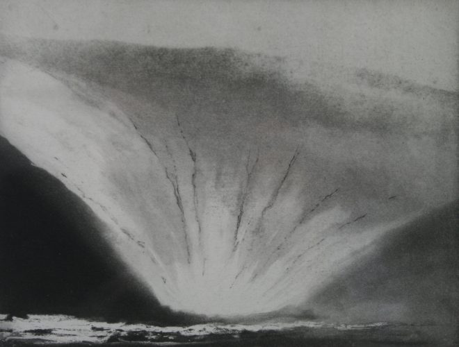 Nowt Bield (Orkney) by Norman Ackroyd at Gwen Hughes Fine Art