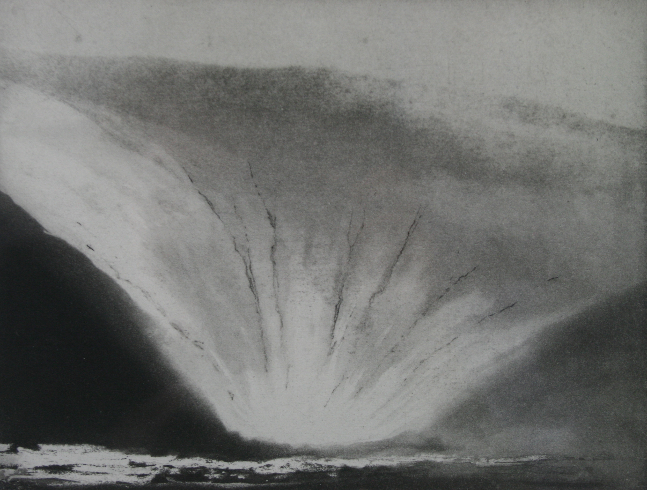Nowt Bield (Orkney) by Norman Ackroyd