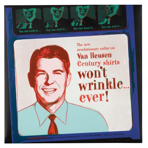 Van Heusen (RONALD REAGAN) (FELDMAN & SCHELLMANN II.356) by Andy Warhol at Andy Warhol