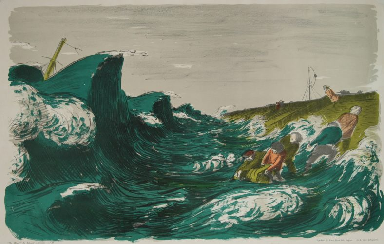 The Wreck by Edward Ardizzone