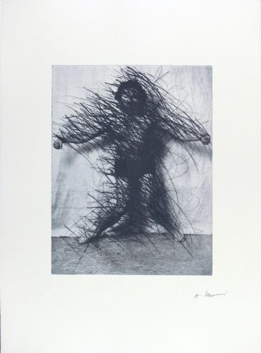 Untitled by Arnulf Rainer at www.kunzt.gallery
