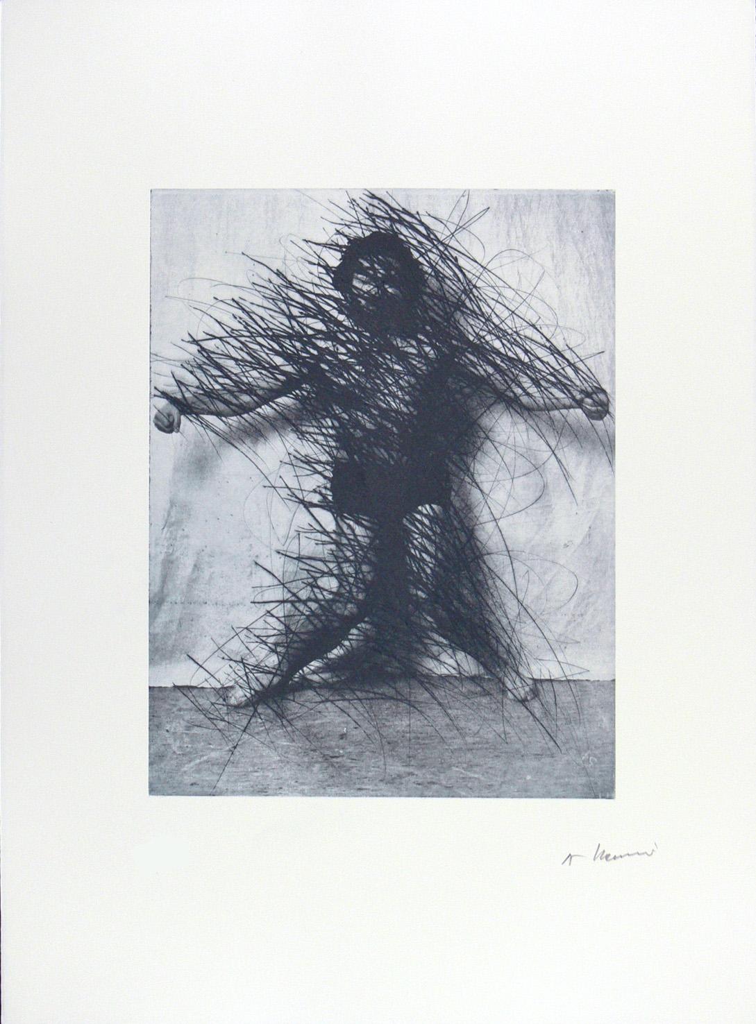 Untitled by Arnulf Rainer