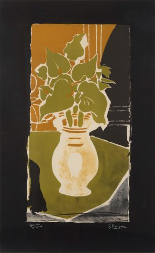 Feuilles Couleur Lumière by Georges Braque