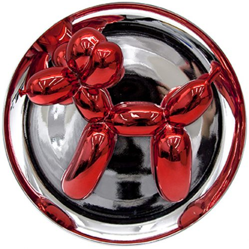 Balloon Dog (Red) by Jeff Koons at