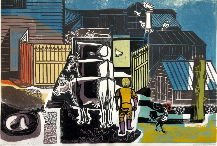 Ives Farm by Edward Bawden at Gwen Hughes Fine Art