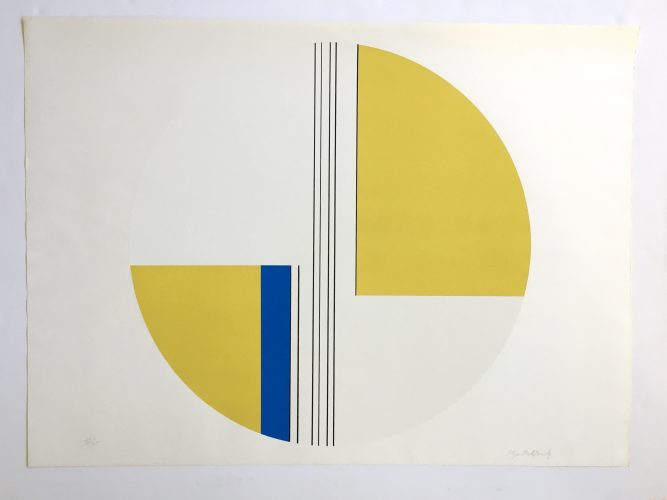 Tondo Portfolio II, #2 by Ilya Bolotowsky at