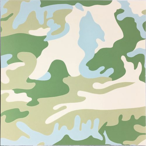 Camouflage (407) by Andy Warhol