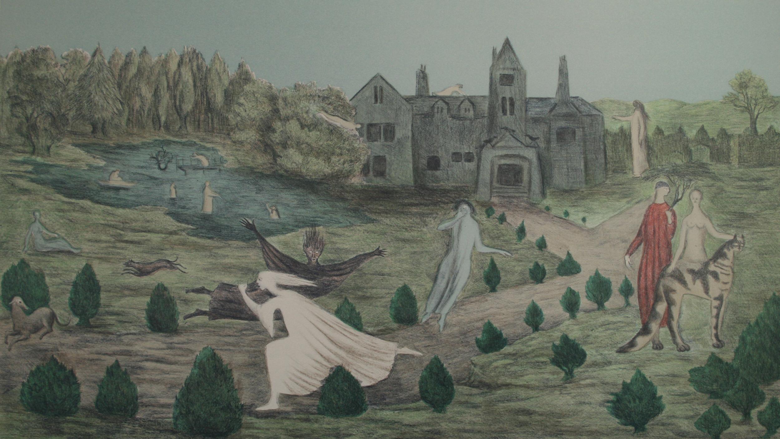 Crookhey Hall by Leonora Carrington