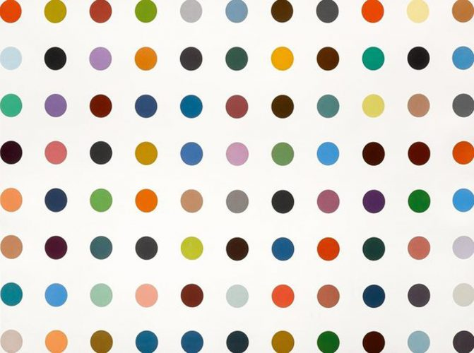 Postcard from… Damien Hirst: Nucleohistone by Damien Hirst