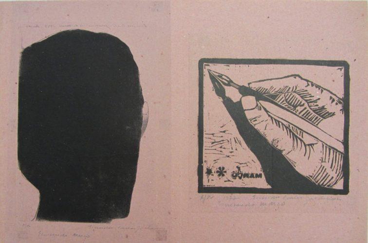 Writing March by Evandro Carlos Jardim
