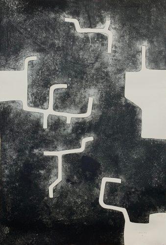 Homenaje à Aimé Maeght by Eduardo Chillida