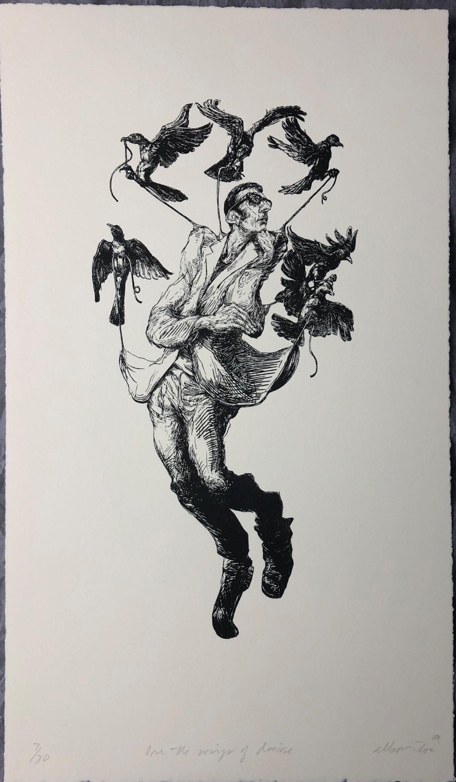 "Elbow Toe ""On the Wings of Desire"" by Brian Adam Douglas aka Elbow Toe"