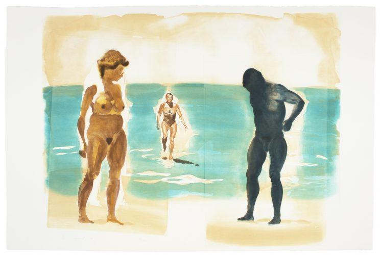 Beach (Beach Scenes I-IV) by Eric Fischl