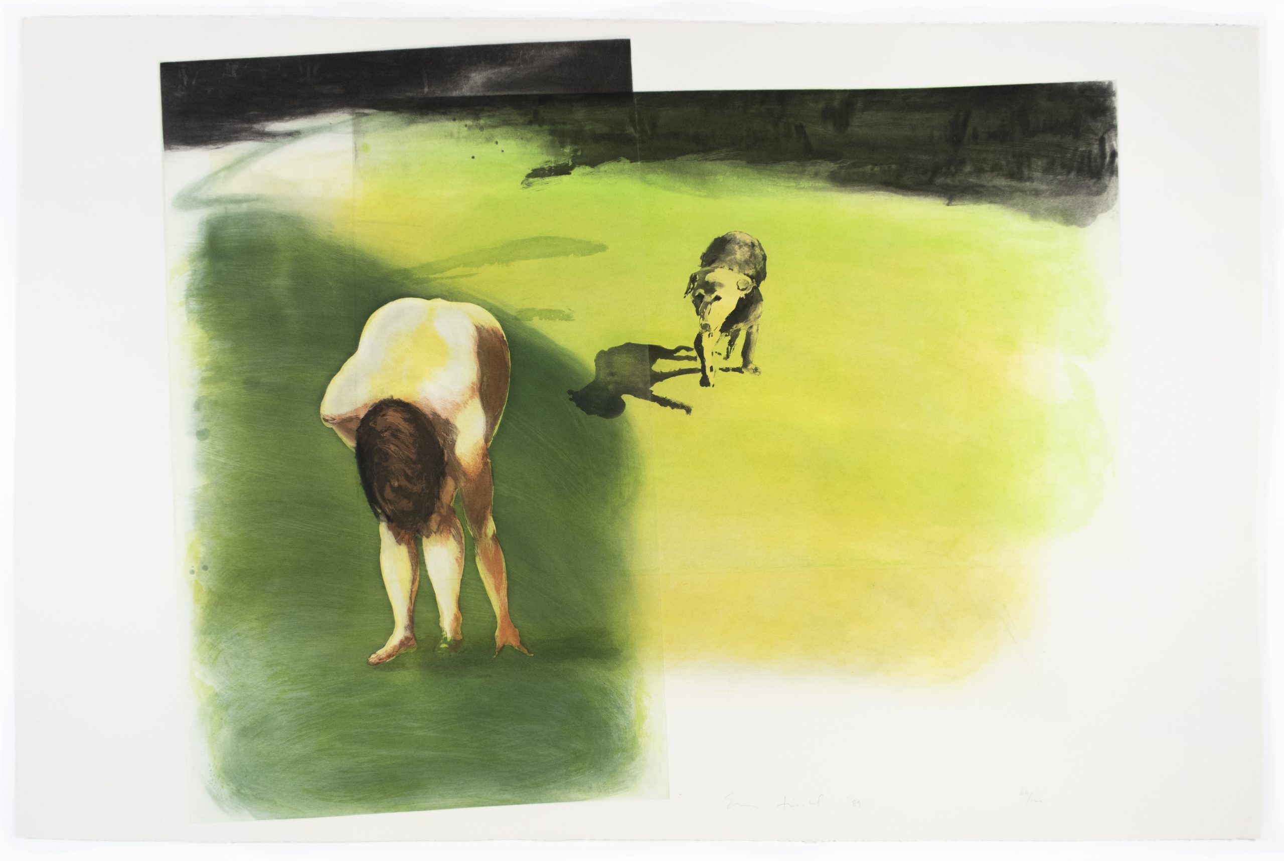Dog (Beach Scenes I-IV) by Eric Fischl