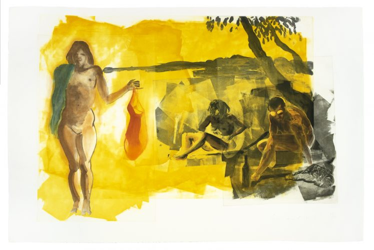 Rays (Beach Scenes I-IV) by Eric Fischl