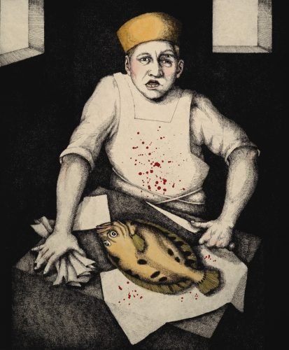 Fishmonger by Julie Speed at