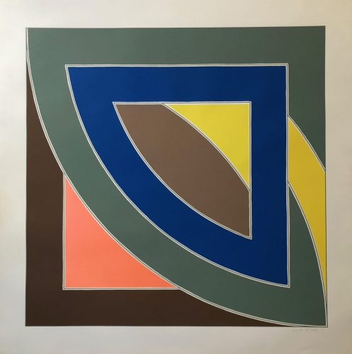 River of Ponds I (from the Newfoundland series) by Frank Stella at