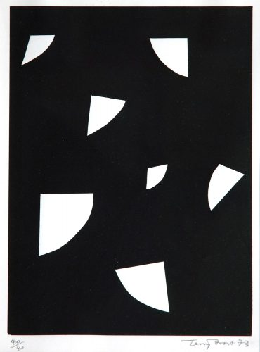 Variations (White on Black) by Terry Frost at