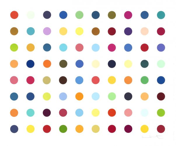 Dequalinium Chloride by Damien Hirst at