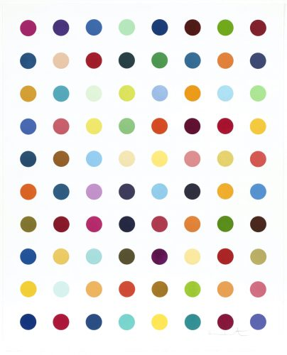 Gly-Gly-Ala by Damien Hirst at