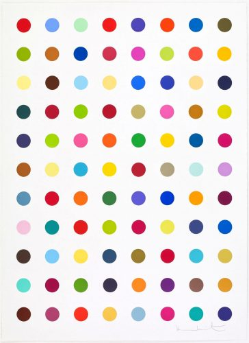 L-Isoleucine Methyl Ester by Damien Hirst at