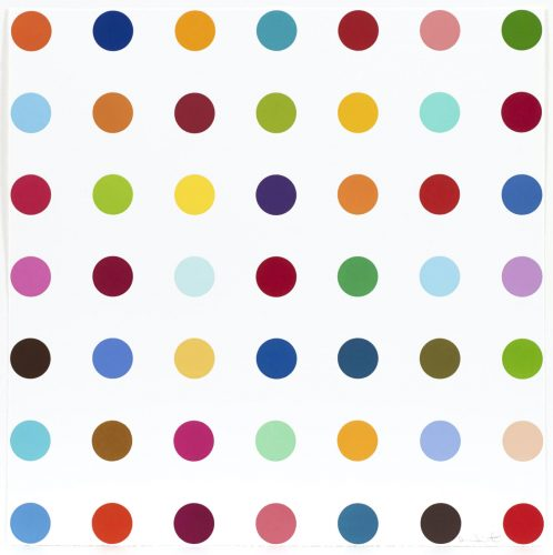 Mannitol by Damien Hirst at