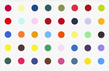 Methyl Phenylsulfoxide by Damien Hirst at