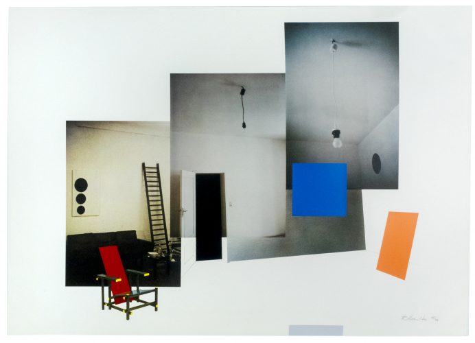 Interior with Monochromes by Richard Hamilton at