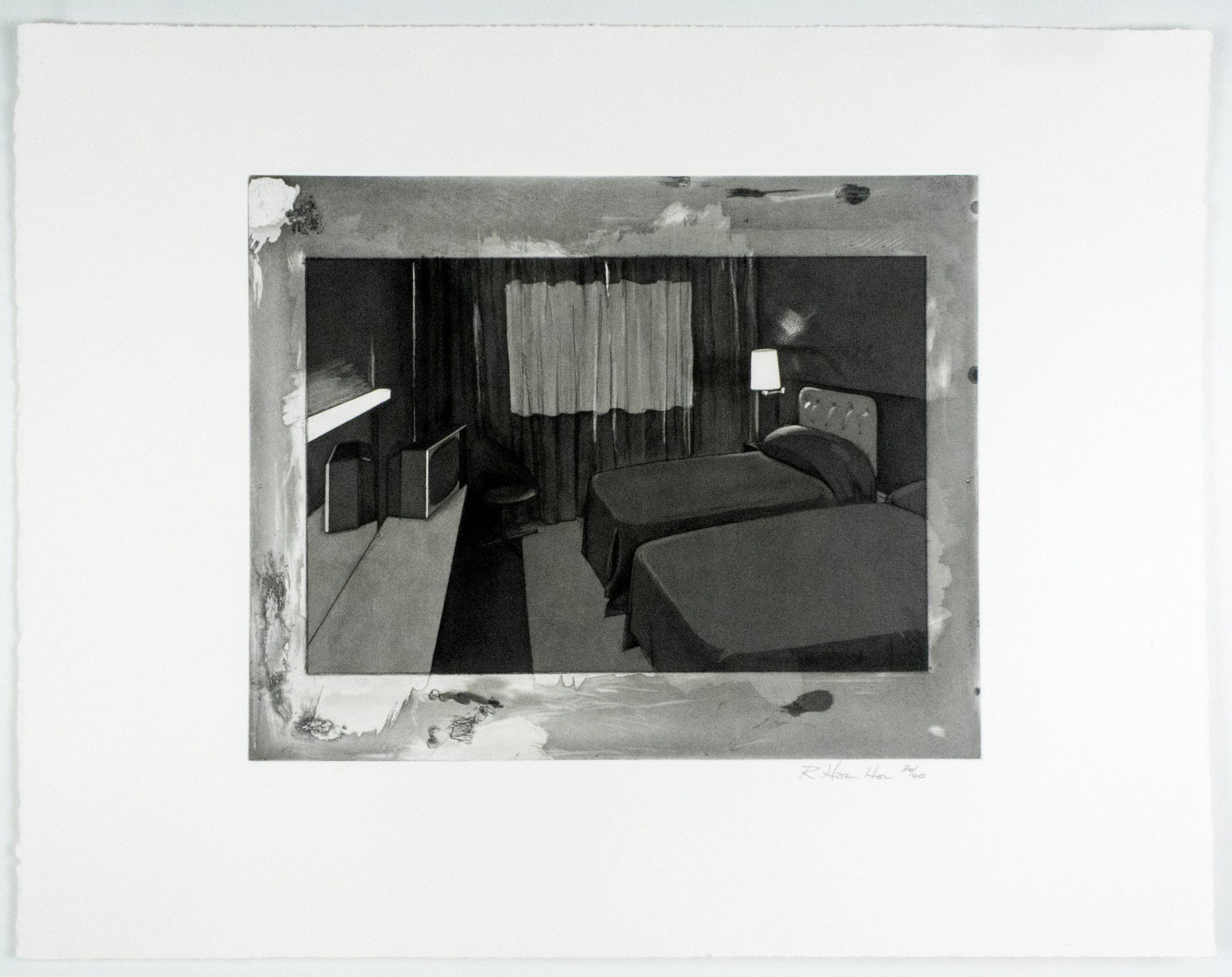 Motel I by Richard Hamilton