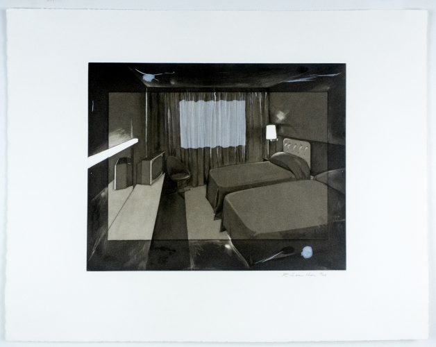 Motel II by Richard Hamilton at
