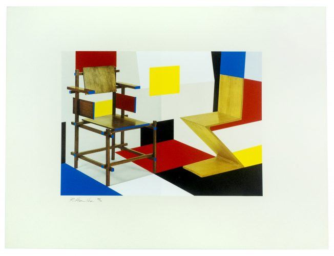 Putting on de Stijl by Richard Hamilton at