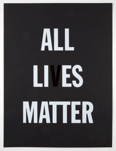 All Li es Matter by Hank Willis Thomas