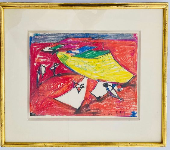 Untitled by Hans Hofmann at