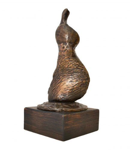 Standing girl, shell skirt by Henry Moore