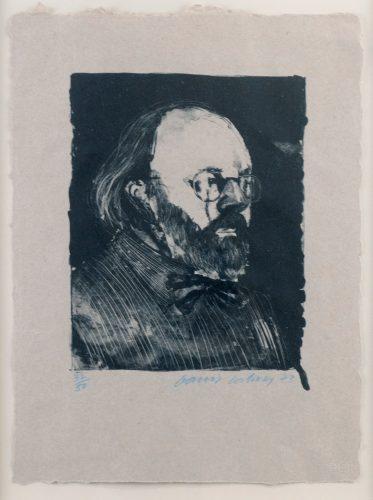Henry '73 (Framed) by David Hockney