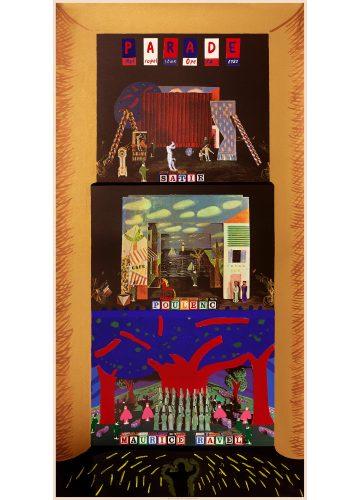 A French Triple Bill 1982 (Metropolitan Opera) by David Hockney at David Hockney