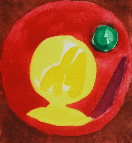 Mahi by John Hoyland at