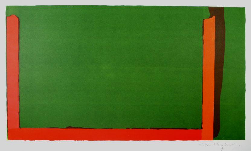 Small Green (Swiss) by John Hoyland at John Hoyland