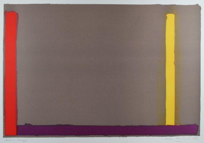 Large Grey (Swiss) by John Hoyland at John Hoyland