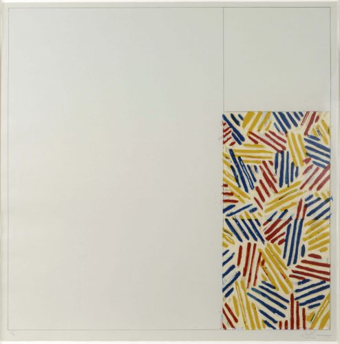 #4 (After Untitled 1975) by Jasper Johns