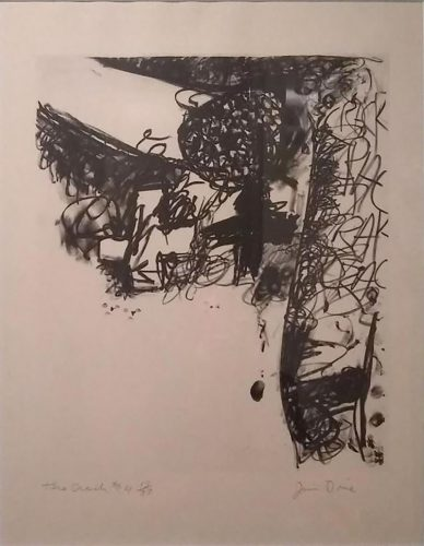The Crash #4 by Jim Dine